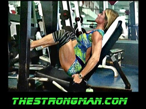 Bianca Training LEG 8 Days out with Marc Nadeau PART 2