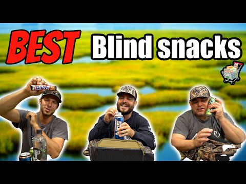 BEST Blind Snacks For Duck Hunting 2020!