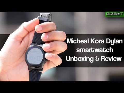Micheal Kors Dylan Smartwatch Unboxing and Review - GIZBOT