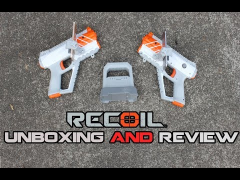 REAL LIFE FIRST PERSON SHOOTER || RECOIL Starter Kit Unboxing & Review