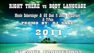 Download RIGHT THERE vs BODY LANGUAGE DJ SAKE REMIX MP3 song and Music Video