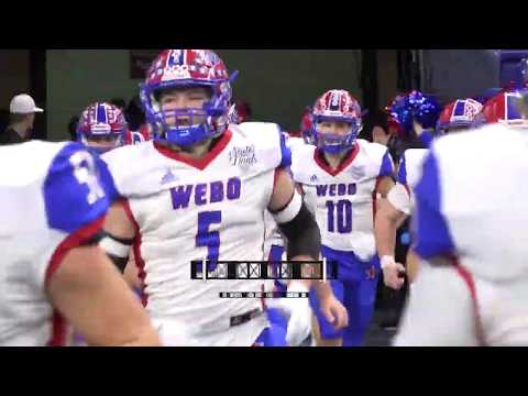 Western Boone At Eastbrook Football 11 30 19 State Champs Indiana Youtube