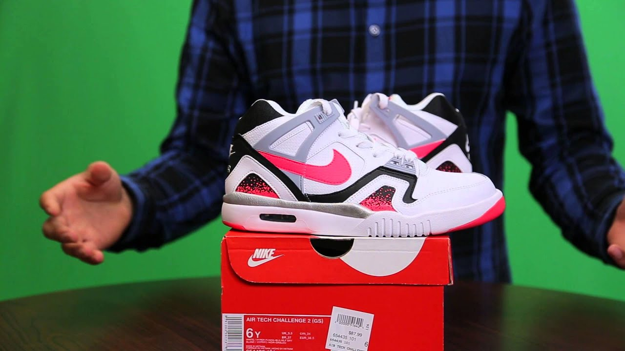 Nike Air Tech Challenge 2 (GS) | Unboxing