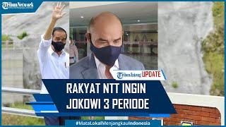Gubernur Viktor Laiskodat Sebut Rakyat NTT Ingin Jokowi 3 Periode Jabat Presiden RI