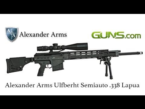 alexander arms 338 gunbroker