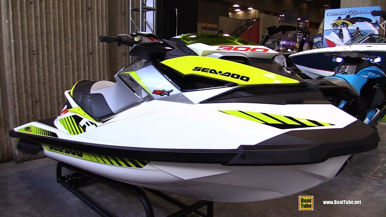 2017 Sea Doo Rxp X 300 Jet Ski Walkaround Montreal Boat Show