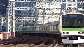 JR山手線E231系東トウ501編成有楽町駅到着