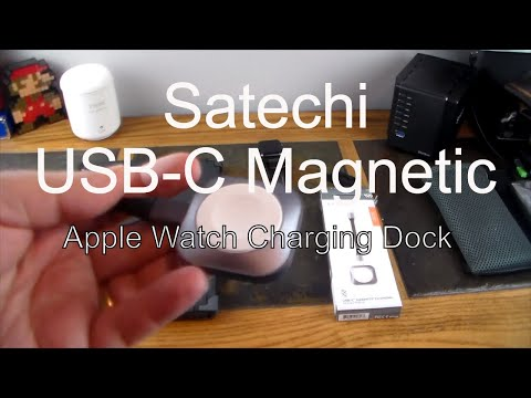 Satechi USB-C Portable Magnetic Apple Watch Charging Dock