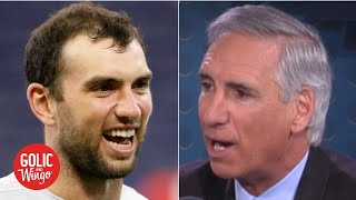 Andrew Luck's dad wasn't surprised by his sudden retirement from the NFL | Golic and Wingo