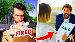 How I got fired and UN-fired in the SAME day...