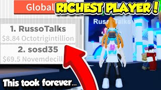 BECOMING THE NUMBER ONE RICHEST PLAYER IN BUSINESS SIMULATOR 2!! (Roblox)