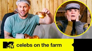 Celebs Cause Chaos With Their Barn Dance Disaster | Celebs On The Farm