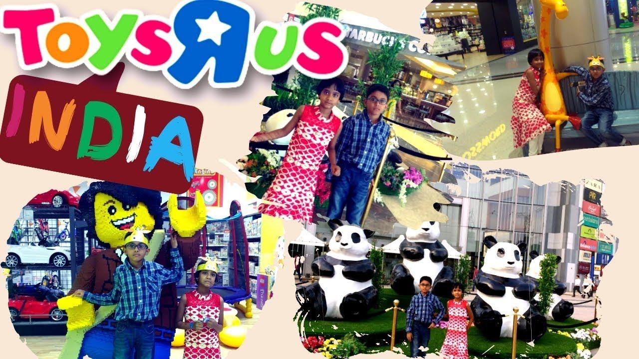 Toys R Us India At Phoenix Market City Bengaluru Youtube