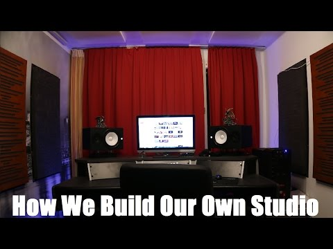 How We Built Our Studio: BEFORE & AFTER Acoustic Treatment included (STUDIO UPDATE)
