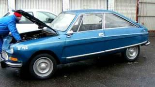 Download lagu Citroën M35 nr 122 Blue Delta suspension starting to raise MP3