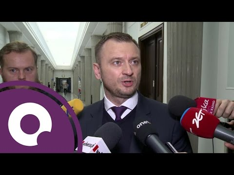 Sławomir Nitras ściga ochroniarza Jarosława Kaczyńskiego   OnetNews