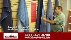 New Haven Moving Equipment - Movers Tips - Furniture Pads