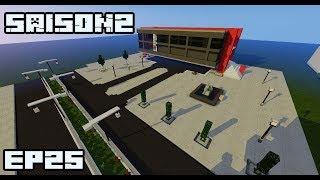 Ville Minecraft S2 |La place publique| #25