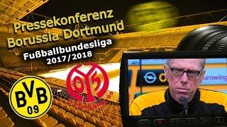 Borussia Dortmund - 1. FSV Mainz 05: Pk mit Peter Stöger