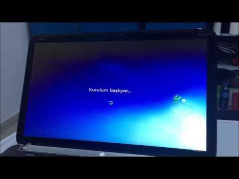 BIOS Windows 7 Format Atma Nasıl Yapılır HP Computer