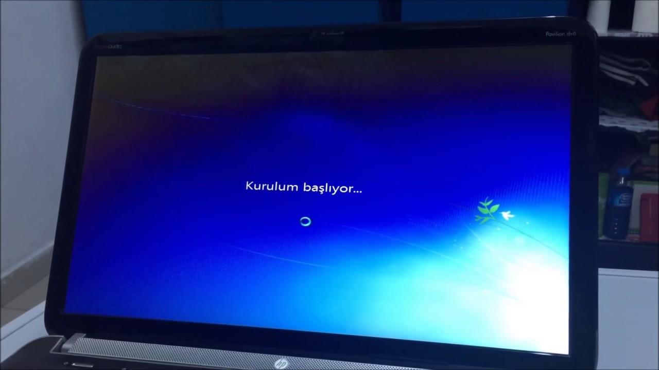 Windows 7 ulti̇mate format atma [ detayli ] youtube.