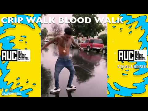 Crip Walk Blood Walk challenge