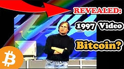 Steve Jobs 1997 Speech About Bitcoin Today   REVEALED: Steve Jobs Bitcoin Speech 1997