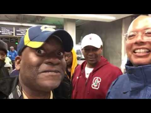 Clowning With Clinton Killian At Cal Stanford Big Game