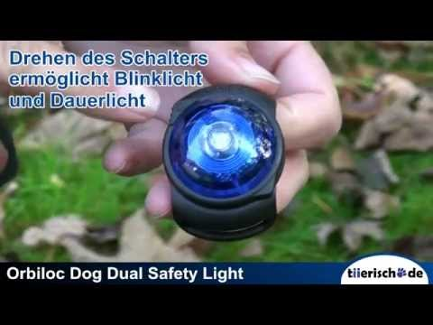 Orbiloc Safety Light Dog Dual