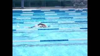 《全民運動之與金牌選手對對玩》  楊雨自由泳示範
