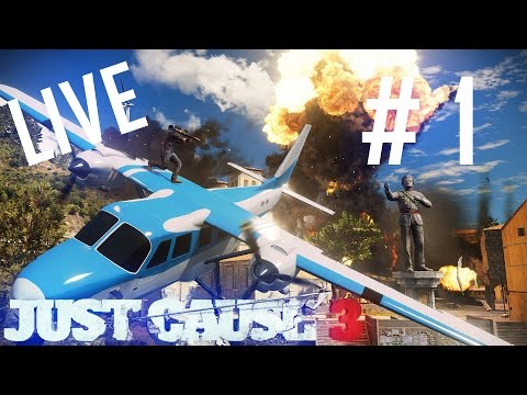 Just Cause 3 - Rico se intoarce | Live Episodul 1