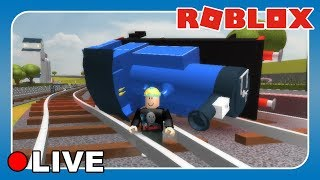 ROBLOX LIVE STREAM: Thomas & Friends, Shark Bite, Natural Disaster Survival & More!