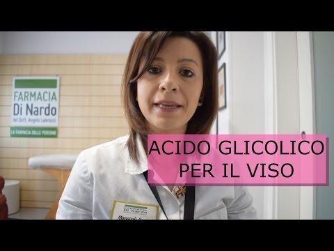 Acido glicolico per la bellezza del tuo viso