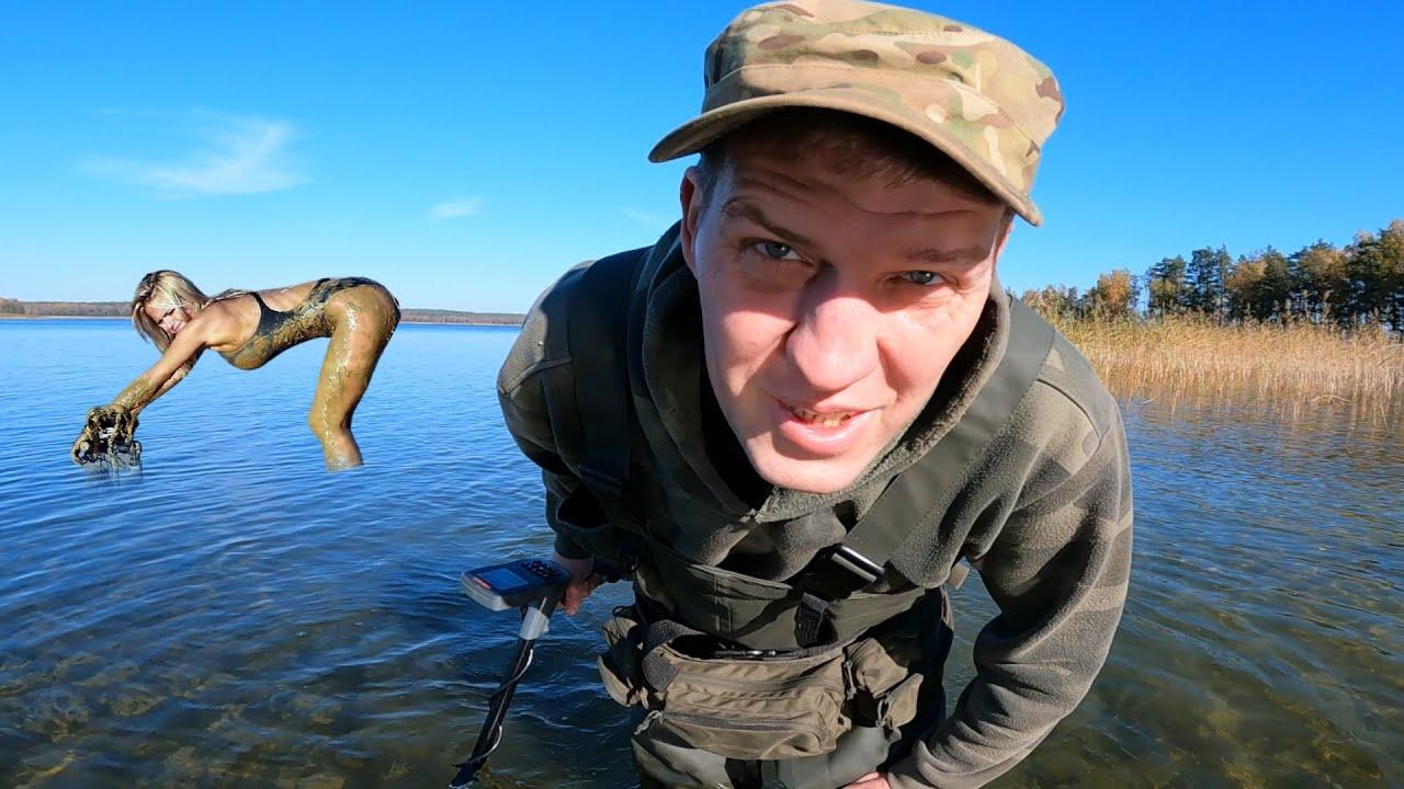 Я первый раз увидел, как ОНА РАБОТАЕТ под водой! Gold hunter T90