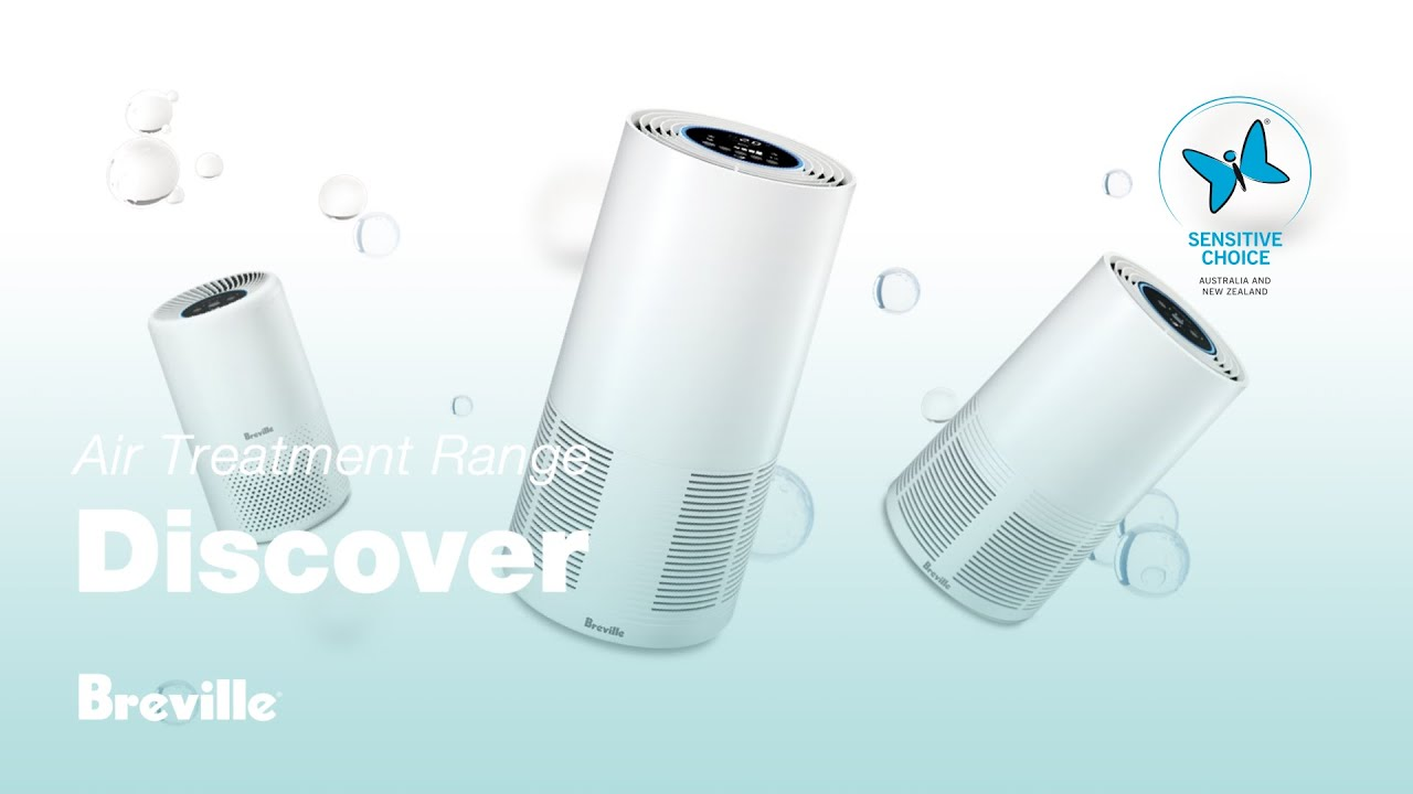 Breville Air Purifier Range The Easy Air The Smart Air And The Smart Air Plus Youtube
