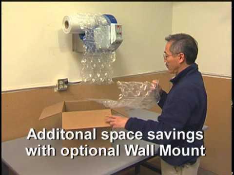 MINI PAK'R air cushion machine - wall mount unit