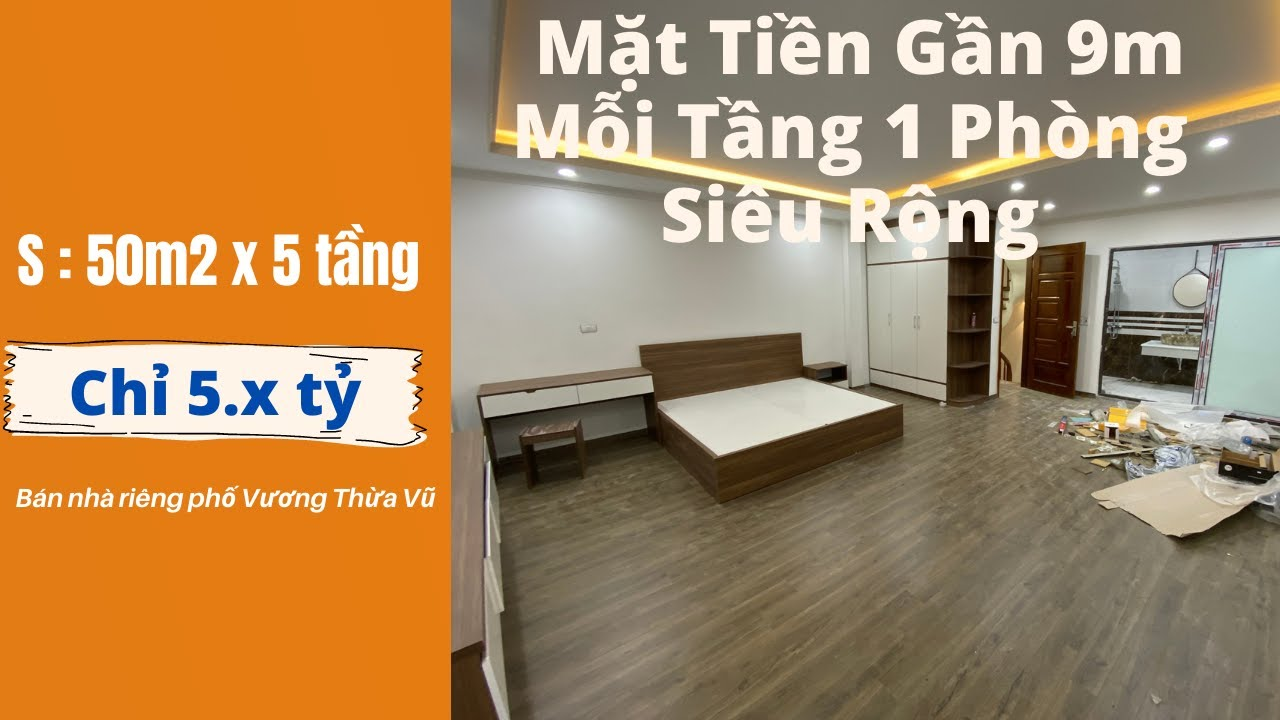 image Bán Nhà Hà Nội Phố Vương Thừa Vũ 50m2 Mặt Tiền Gần 9m Phòng Siêu Rộng | Bán Nhà Hà Nội 2021