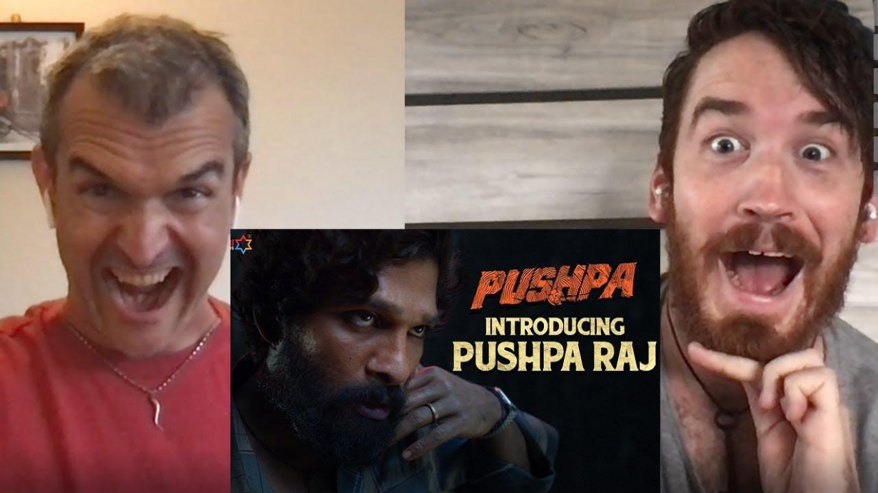 Introducing Pushpa Raj Teaser REACTION!!   Allu Arjun   Pushpa   Rashmika   Fahadh Faasil