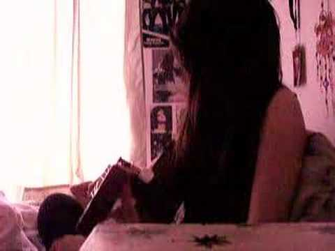 """Girl Guitarist Performs - """"Better Than Me"""" by Hinder"""