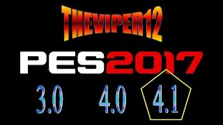 Instalando Patch Theviper12 4.1, 4.0 ou 3.0 - Tutorial -XBOX 360 - LIVE FUNCIONANDO - PES 2017