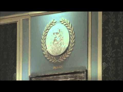 Marble Moses In Netanyahu's Speech