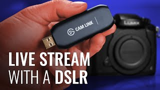 Using a DSLR for LIVE Video