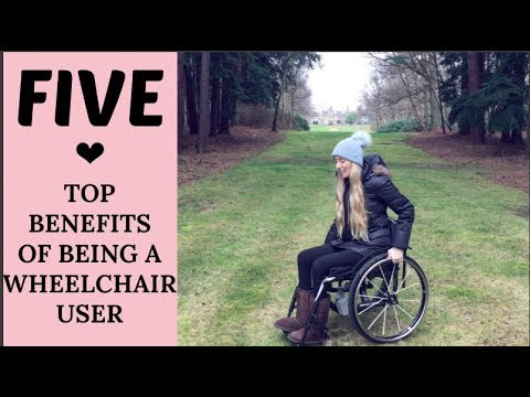 TOP 5 BENEFITS TO BEING A♿️ WHEELCHAIR USER | WHEELSNOHEELS