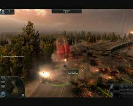 9800GX2 SLI WORLD IN CONFLICT GAMEPLAY