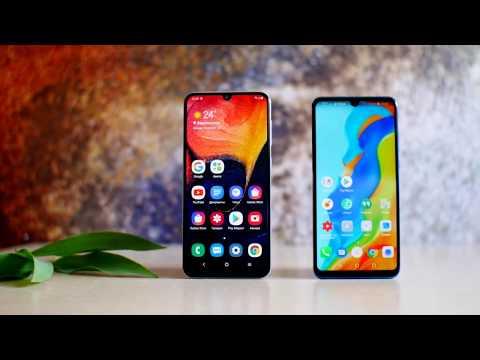 Huawei P30 Lite в сравнении с Galaxy A50. Месяц использования!