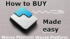 How to buy Waves - The easiest way to BUY WAVES!