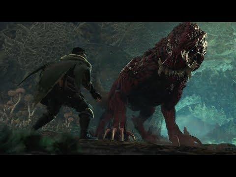 Monster Hunter World - Rotten Vale Gameplay