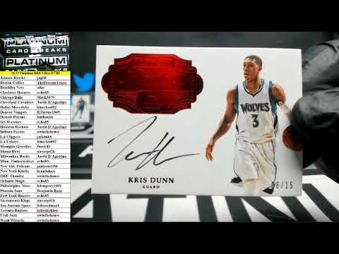 2016-17 Panini Flawless Basketball 1 Box Random Teams #2