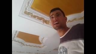 طريقة لصق ورق الدهب محمد المعداوي Paste gold paper