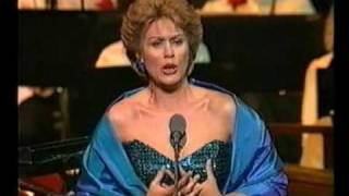 "Dame Kiri Te Kanawa sings ""Let the Bright Seraphim"" - Handel"